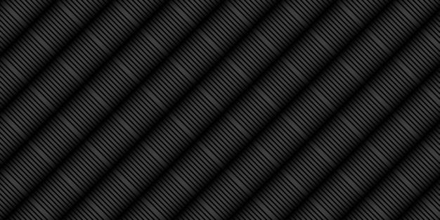 ラインストライプパターンと抽象的な黒の背景