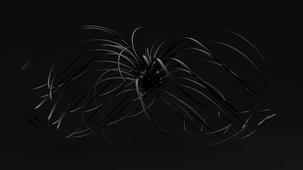 抽象的な黒の背景。