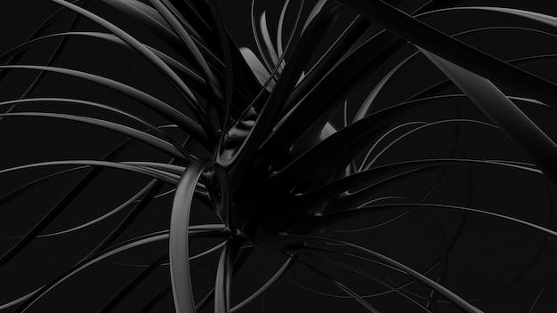 Абстрактный черный фон.