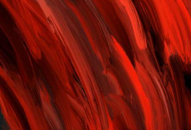 Abstract black and deep red horizontal expressive striped background