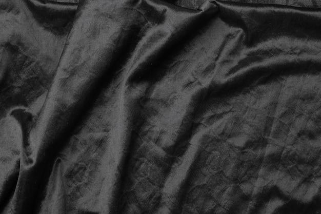 抽象的な黒い布