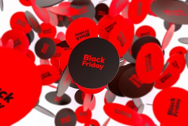 Абстрактная черная пятница
