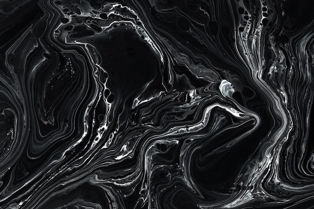 Абстрактный черный мрамор текстуры фона.