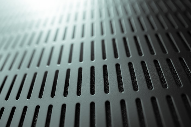Abstract black server rack texture background