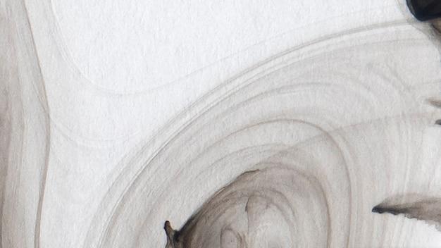 추상 검은 수채화 꽃무늬 배경