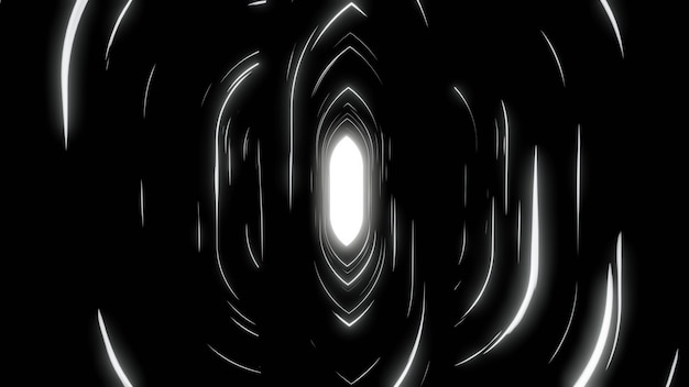 Abstract black white background wallpaper backdrop black line speed glow screen