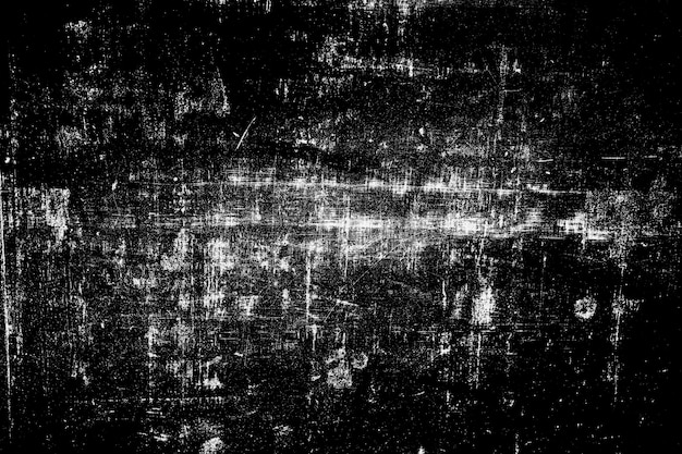 Abstract black and white grunge surface texture background.