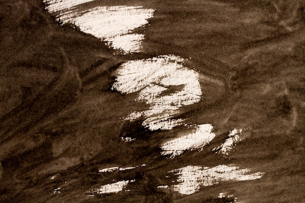 Abstract black and white watercolor light painted background or texture.