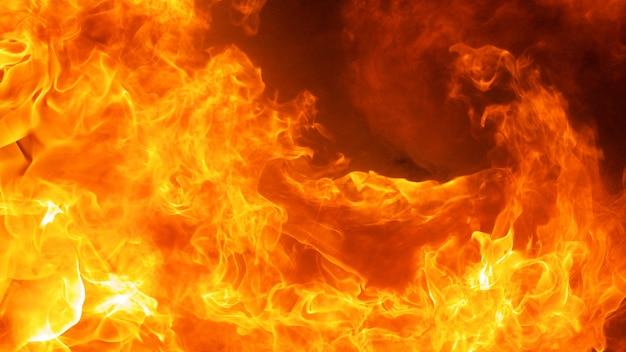 추상 불꽃 화재 불꽃 질감 배경