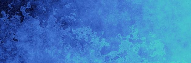 추상 파란색과 녹색 벽
