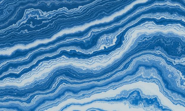 추상 파란색과 흰색 대리석 질감 배경