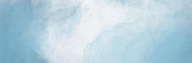 추상 파란색과 흰색 물 색 배경입니다.