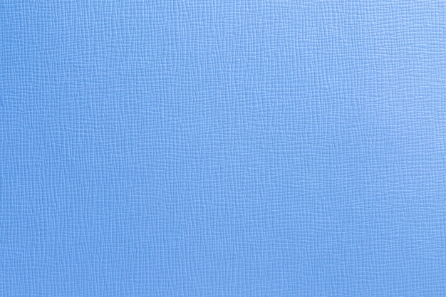 Abstract blue artificial leather from bag background