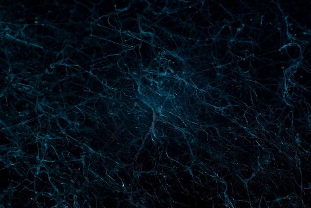 Абстрактный синий фон крупным планом плесени. нейронная сеть