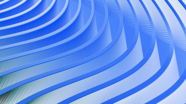 Abstract blue background with flowing wavy