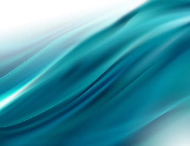 スムートラインと抽象的な青い背景