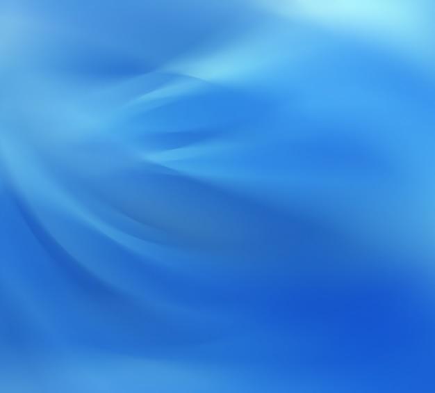 滑らかな線で抽象的な青い背景