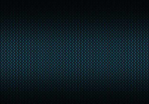 Abstract blue carbon fiber textured material
