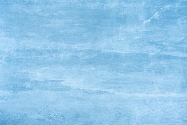 抽象的な青いセメントまたはコンクリートの壁のテクスチャ背景