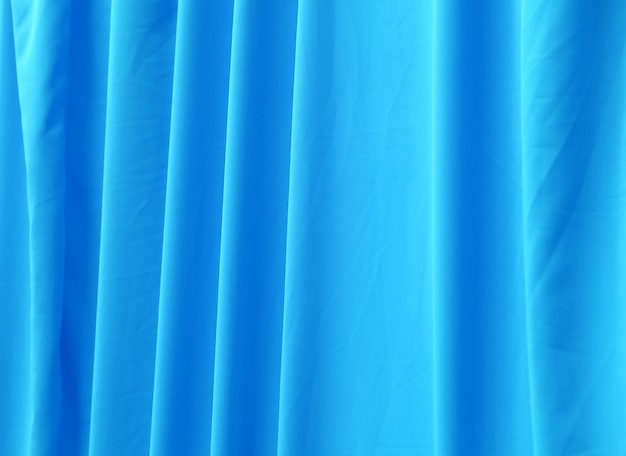 Abstract blue curtain texture