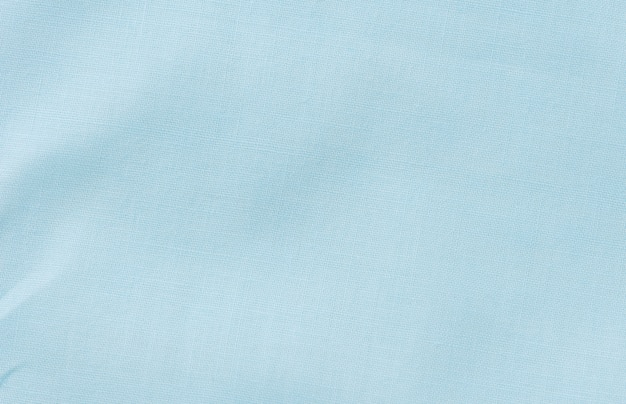 Abstract blue fabric texture background