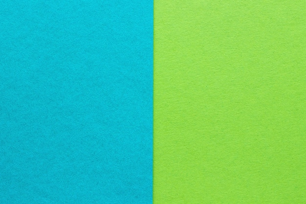 Abstract blue and green paper background, texture