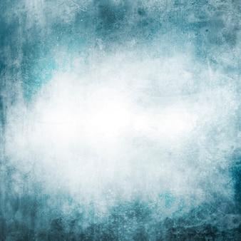 Синий абстрактный гранж-фон бумаги