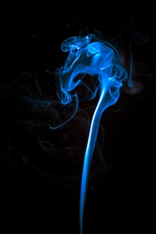 Abstract blue light effect background