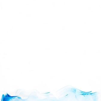 Абстрактная синяя линия мазка