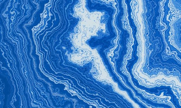 추상 파란색 대리석 질감 배경입니다.
