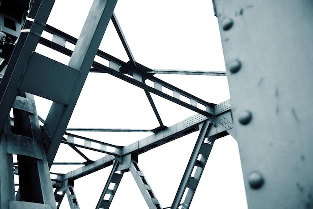 Абстрактный синий металлический фон архитектуры