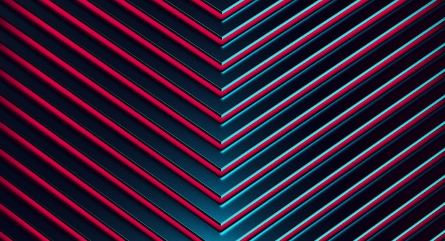 The abstract blue metal pattern background.