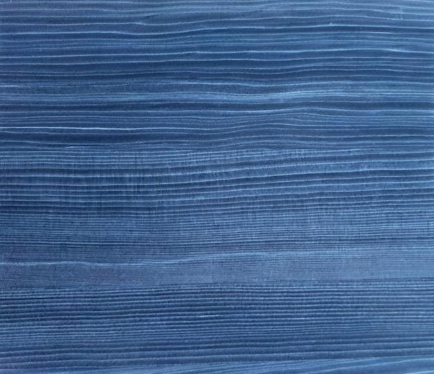 Абстрактная синяя окрашенная текстурированная древесина