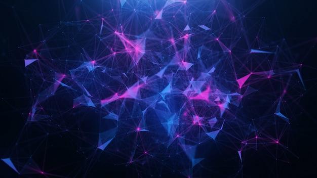 Абстрактный синий фон сплетения