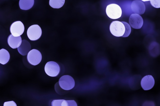 Abstract blue purple bokeh backdrop