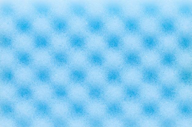 抽象的な青いスポンジテクスチャ背景