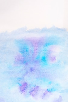 Abstract blue and violet aquarelle background