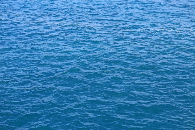Abstract blue water sea texture.