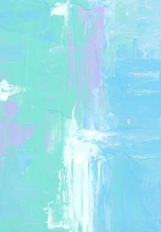 Абстрактный синий, белый, фиолетовый и зеленый пастельный фон