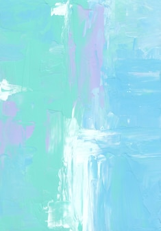 Abstract blue, white, purple and green pastel background