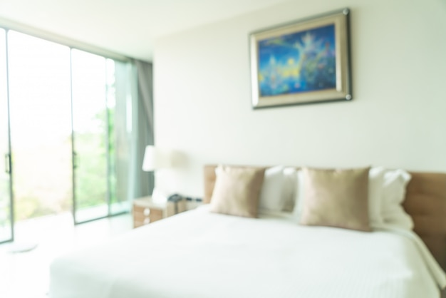 抽象的なぼかしと多重寝室装飾インテリア