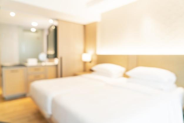 추상 흐림 및 배경 defocused 호텔 리조트 침실