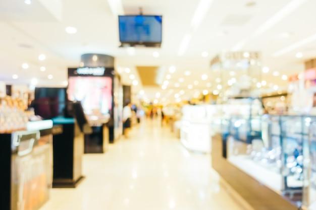 백화점의 추상 흐림 및 Defocused 쇼핑몰 센터 무료 사진