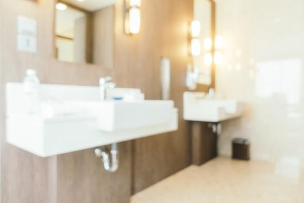 Абстрактные размытия ванной