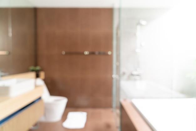 추상 흐림 아름다운 고급 호텔 욕실 인테리어