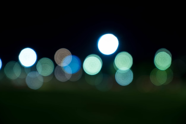 Абстрактный размытый боке свет