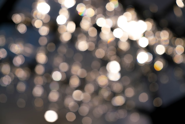 Abstract blur bokeh light