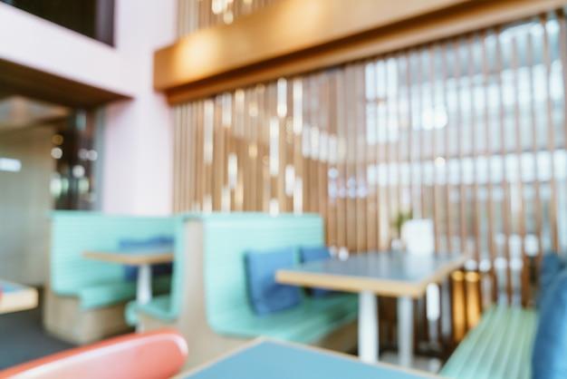 추상 블러 카페 레스토랑