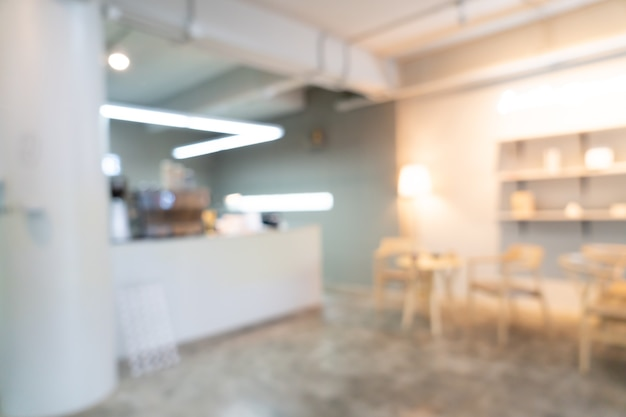Abstract blur coffee shop cafe restaurant for background
