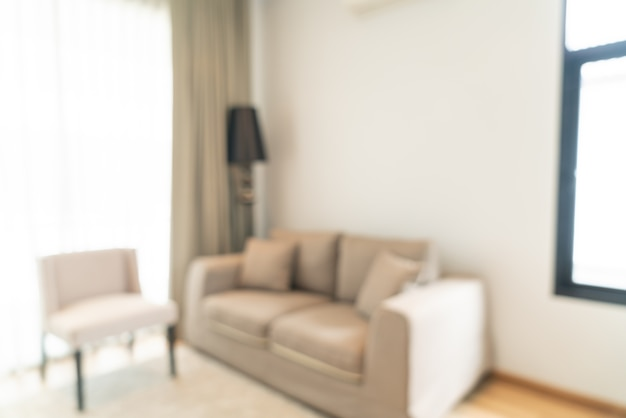Abstract blur and defocused living room for